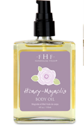 Picture of FHF Honey Magnolia Body Oil